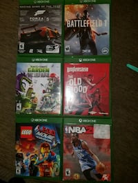 Xbox one games sell or trade  Nicholasville, 40356