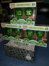 Green Giant & Sprout metallic target exclusive funko pops $50 EACH  Toronto, M1L 2T3