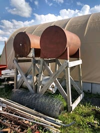 Gas/Diesel Barrel on Stands Albany, 56307