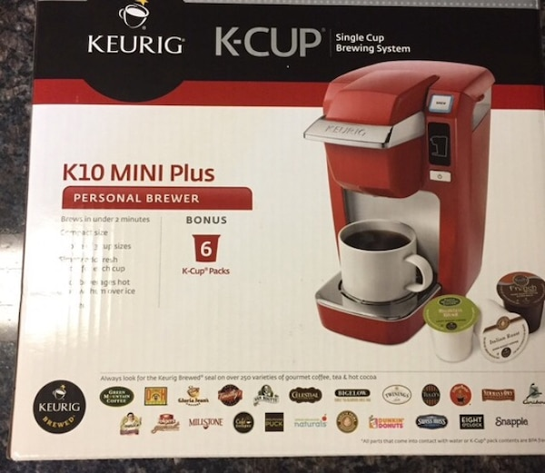 Used Keurig Mini Plus Personal Single Cup Brewer For Sale In