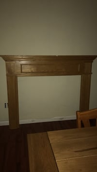 Newer style fireplace mantel Drums, 18222
