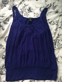 Women's purple sleeveless top Washington, 20032