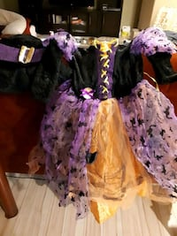light up witch costume for kids 4-6 20$ Ottawa, K4A 2H9
