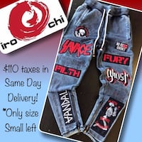 SAVAGE JOGGERS SIZE SMALL JAPANESE IMPORTS Winnipeg, R2H 1P2