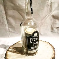 Crows Nest Rum wooden candle  434 mi