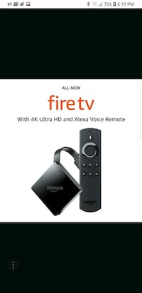 Amazon Fire TV stick screenshot Sterling, 20164