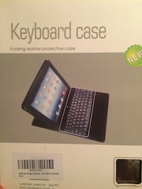 Leather keyboard case for iPad 2,3,4 46 km