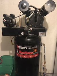 2-Stage air compressors like new