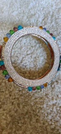 Full stones bangle multi color Crystal and stone bangle ...... Gaithersburg, 20878