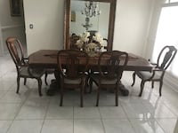 Formal Dining Table with 6 chairs Royal Palm Beach, 33411