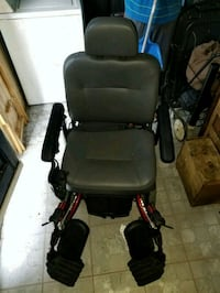 black and red motorized wheelchair Modesto, 95350