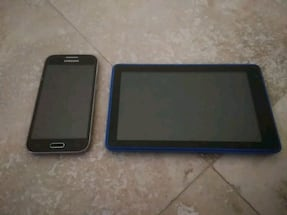 Samsung galaxy core prime and a rca tablet