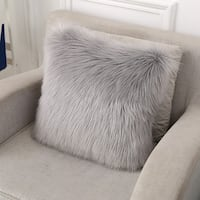 Faux Fur Grey Cushions Burnaby, V3N 5E1