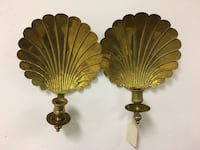 A pair of brass wall candleholders Oklahoma City, 73112