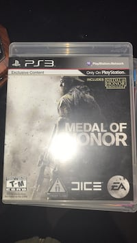 Sony PS3 Medal of Honor game case Kentwood, 49546