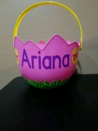 Personalized Easter Basket  Hamilton