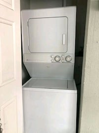 Maytag stacked washer and dryer