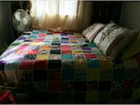 Queen size bed cover handmade new Toronto, M3A 3M3