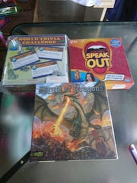 3 new board games Guelph, N1H 7W5