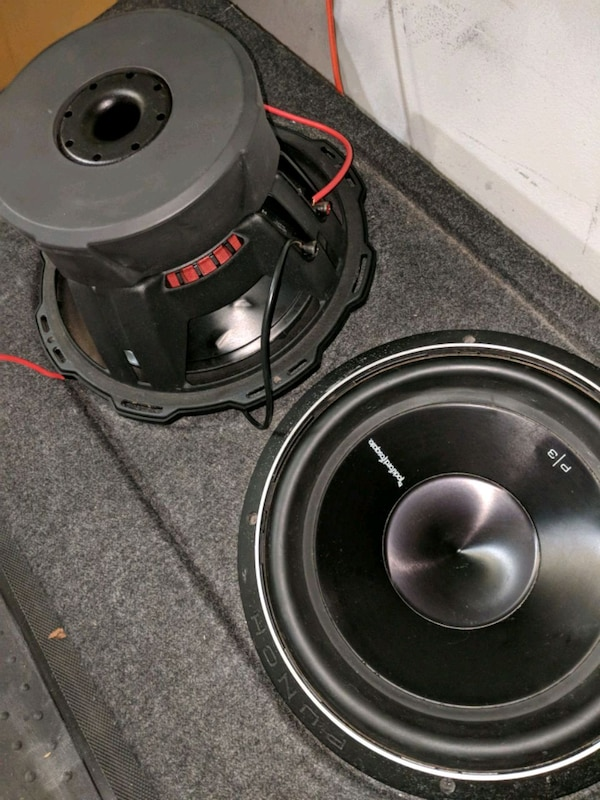 Rockford Fosgate P3 12 inch subs