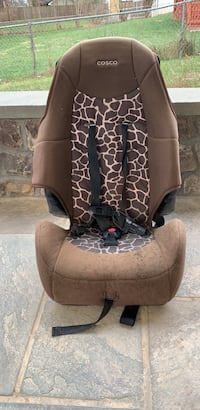 Brown and black car seat Vienna, 22180