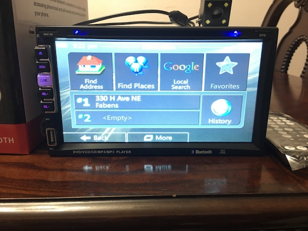 ✭✭SMART RADIO, GPS (HD powered by GOOGLE !!!) GPS!!!! SD card, USB, AUX,  DVD, CD player CAR stereo!!!!! 7 inch screen!!! UNIVERSAL In Dash, Double