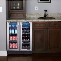 Wine bottles /cans refrigerator by Magic Cheff Xenia, 45385