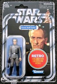 Star Wars Retro Collection Grand Moff Tarkin Vancouver, V5L