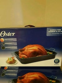 Oster 16 inch Non Stick Turkey Roasting Pan w/Remo