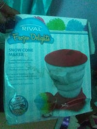 Snow cone maker Knoxville, 37924