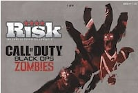 RISK - Call Of Duty Black Ops ZOMBIES Edition (BRAND NEW) Pine River, 56474