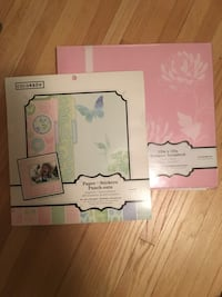 Scrapbook, Pink, Floral, New, Memories, Paper, Alpha, Punchout, Book, Art, Crafts, Colorbok, Designer, Gift, Wedding, Stickers, Pictures Robbinsdale, 55422