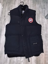 Canada goose vest for sale BLUE LARGE