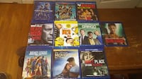Assorted Blu-ray movie New Vancouver