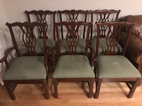 Colonial Brand 6 Piece Dining Chair Set Alexandria, 22304