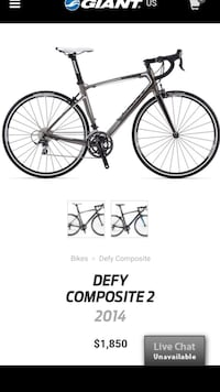 PRICE REDUCED - Giant Defy Composite (2014) Manalapan, 07726