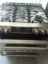 GE cafe double GAS Stove slide in  San Antonio, 78228