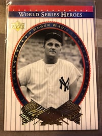 2002 Upper Deck World Series Heroes Roger Maris New York Yankees # 78 Fresno, 93727