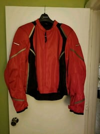 Womens first-gear padded motorcycle jacket.  Nashua, 03063