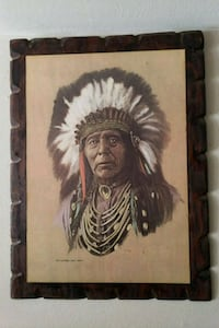 Chief Wild Horse Painting by Hans Luetcke  St. Louis, 63123
