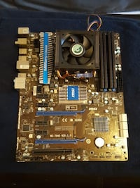 Msi motherboard with AMD Phenom II 6 Core 2.80ghz