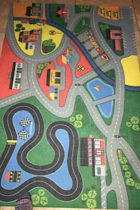Kids play area rug