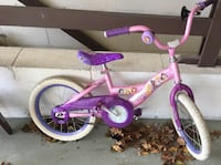 Disney Bike Child Girl Pink And Purple Bicycle  Monmouth County