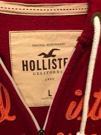 Hollister Hoodies Red Large  Sterling, 20166