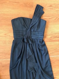 BCBG bridesmaid/formal dress, dark blue