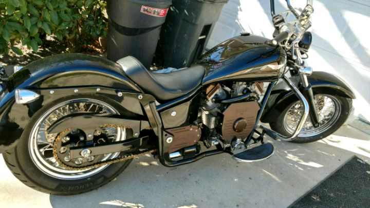 Photo 2006 ridley automatic 750 motorcycle 4000.00