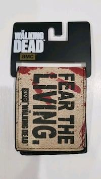 The Walking Dead wallet AMC edition (Brand New) Mississauga, L5L 3Y7