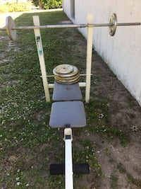 Weight bench and weights  Fort Pierce, 34949