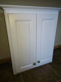 white wooden 2-door cabinet Dearborn Heights, 48127