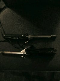 2 Curling Irons. One is a Vidal Sassoon curler Statesville, 28625